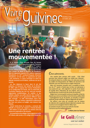 Bulletin Octobre 2015